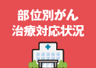 200床以上のがん治療施設一覧と部位別がん治療対応状況